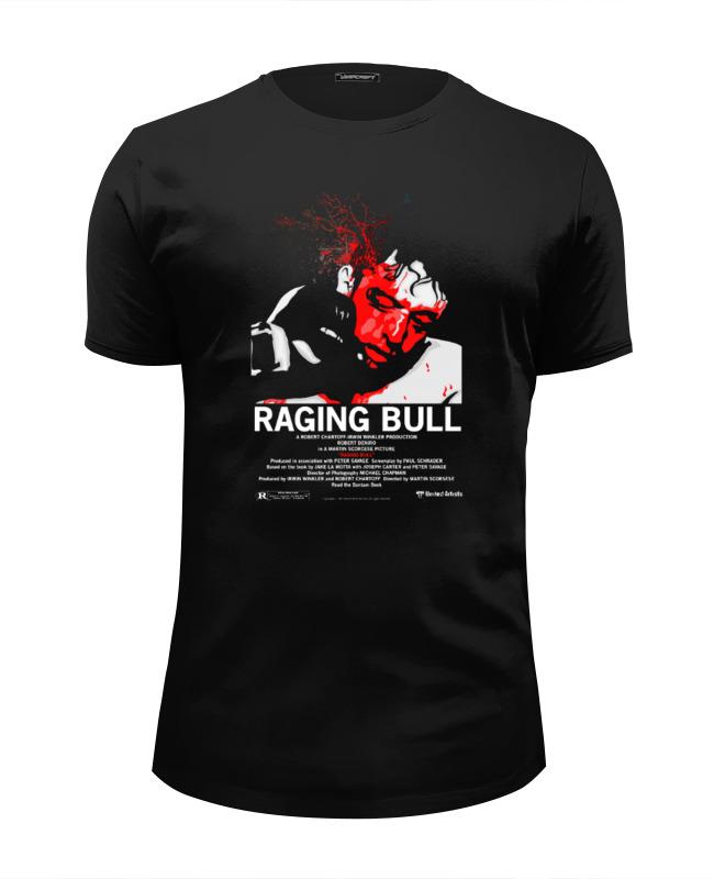 Футболка Wearcraft Premium Slim Fit Printio Raging bull / бешеный бык футболка wearcraft premium slim fit printio черный бык