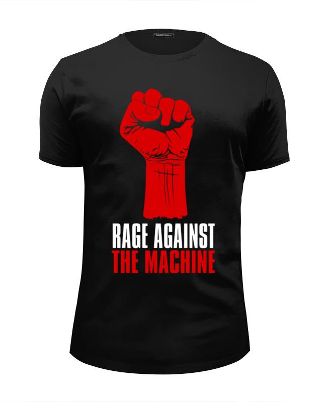 Футболка Wearcraft Premium Slim Fit Printio Rage against the machine rage rage the devil strikes again 2 lp