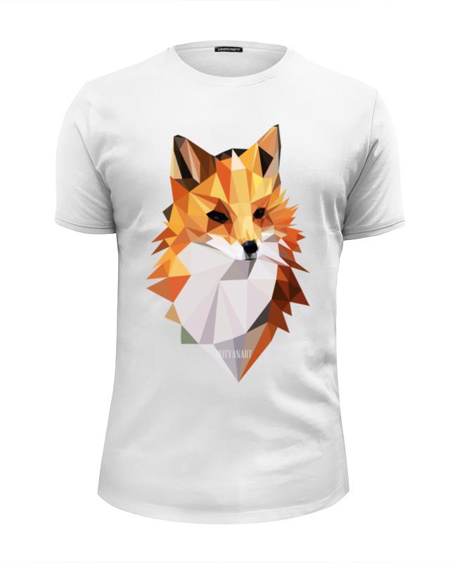 Футболка Wearcraft Premium Slim Fit Printio Poly fox