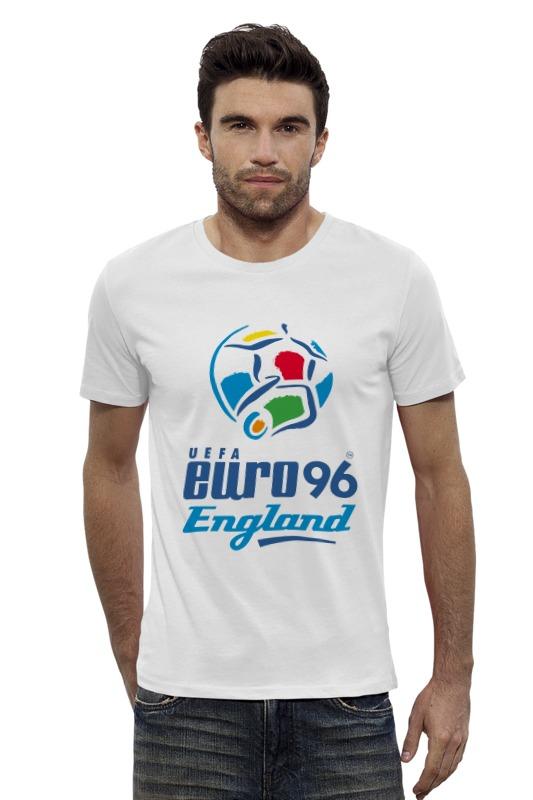 Футболка Wearcraft Premium Slim Fit Printio Чемпиона европы по футболу 1996 год билеты на квн финал 19 12 09