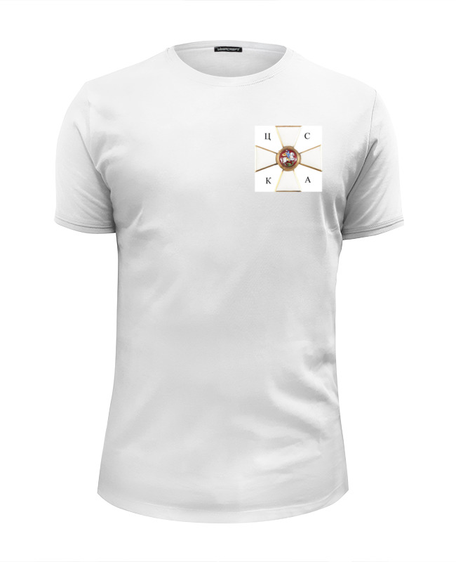 Фото - Футболка Wearcraft Premium Slim Fit Printio Новый символ цска футболка wearcraft premium slim fit printio символ robocomics