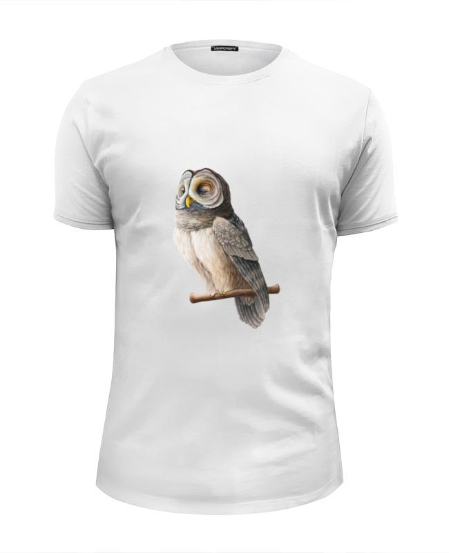 Футболка Wearcraft Premium Slim Fit Printio Совушка футболка wearcraft premium printio совушка