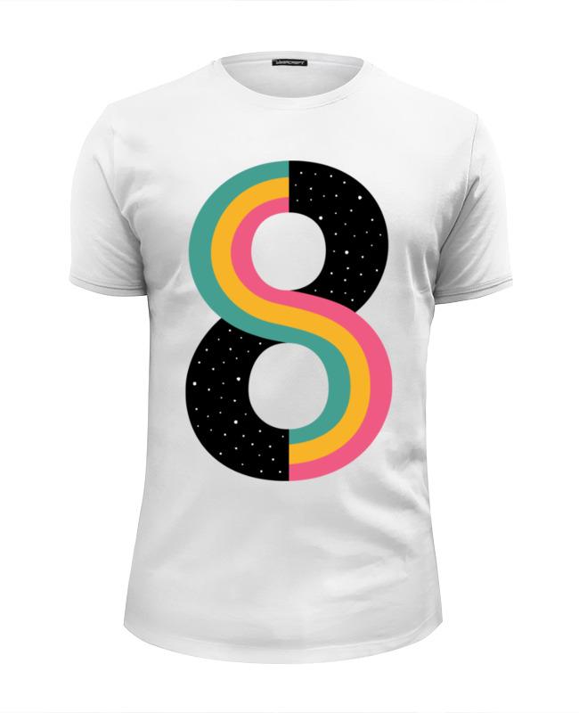 Футболка Wearcraft Premium Slim Fit Printio Бесконечность (космос) футболка wearcraft premium slim fit printio космос