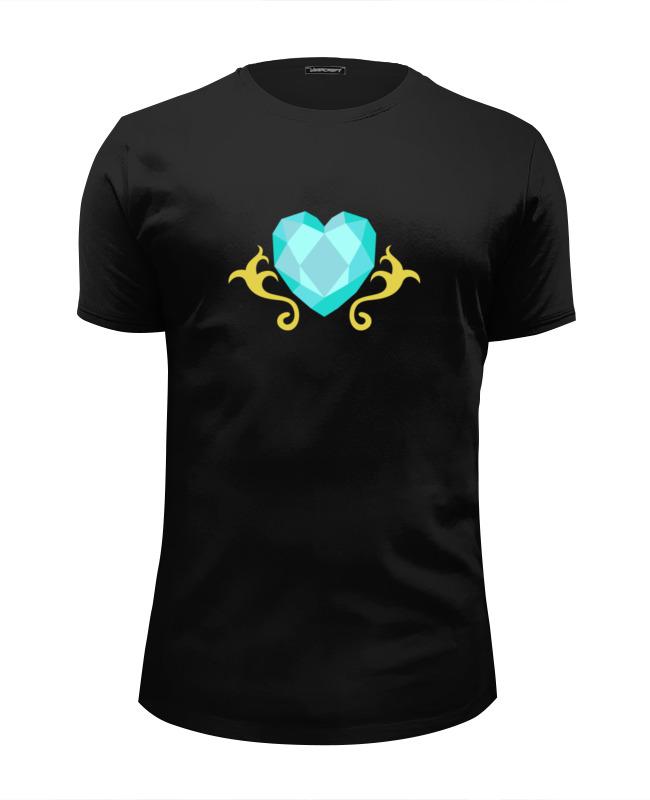 Футболка Wearcraft Premium Slim Fit Printio Сердце (моя маленькая пони) футболка wearcraft premium slim fit printio обнимая твое сердце