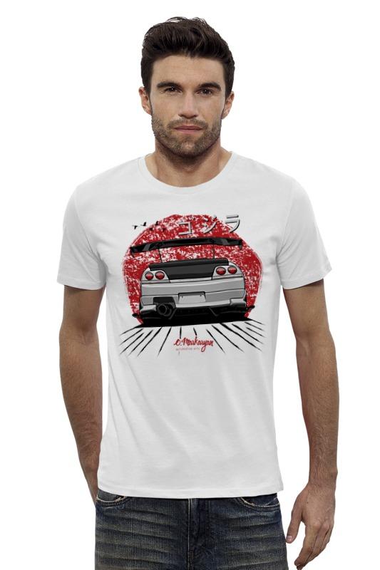Футболка Wearcraft Premium Slim Fit Printio Nissan skyline r33 gt-r футболка wearcraft premium slim fit printio nissan gtr r35