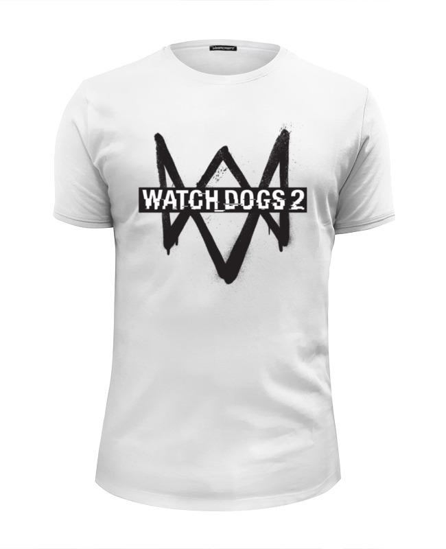 Футболка Wearcraft Premium Slim Fit Printio Watch dogs 2