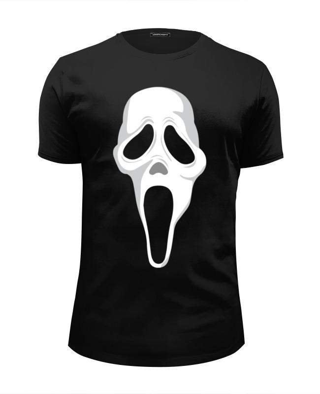 Футболка Wearcraft Premium Slim Fit Printio Крик scream футболка рингер printio крик scream