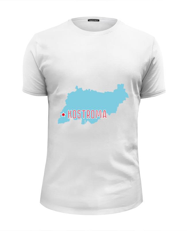 Футболка Wearcraft Premium Slim Fit Printio Костромская область. кострома