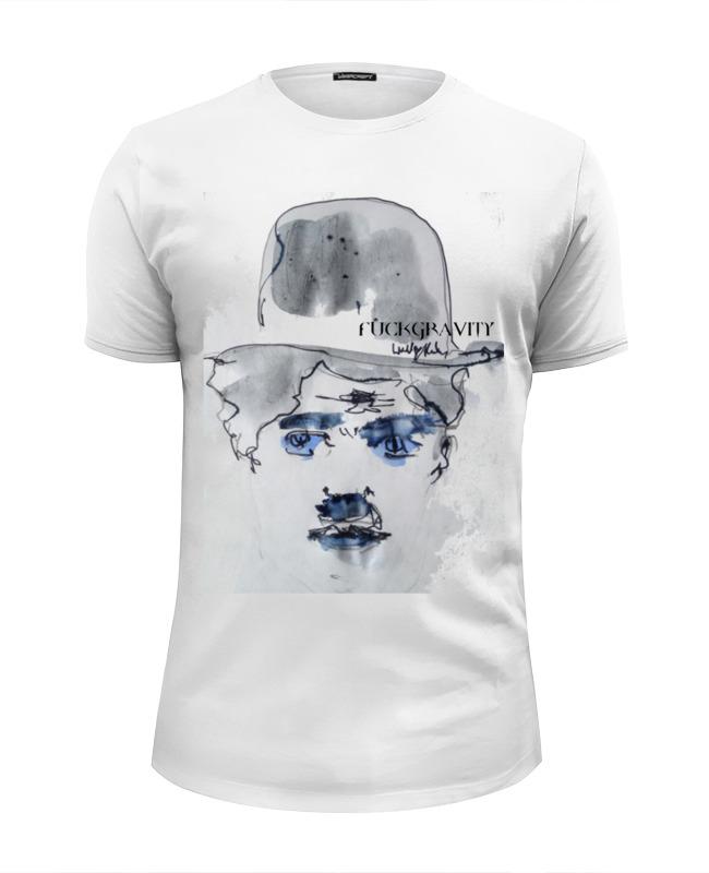 футболка wearcraft premium printio charlie chaplin Футболка Wearcraft Premium Slim Fit Printio Charlie chaplin