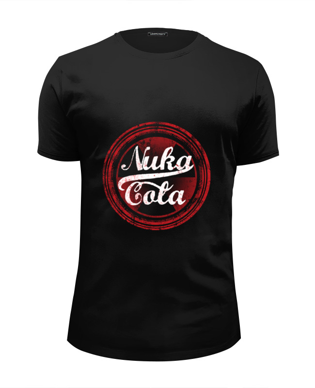 Футболка Wearcraft Premium Slim Fit Printio Nuka cola футболка wearcraft premium slim fit printio whisky cola