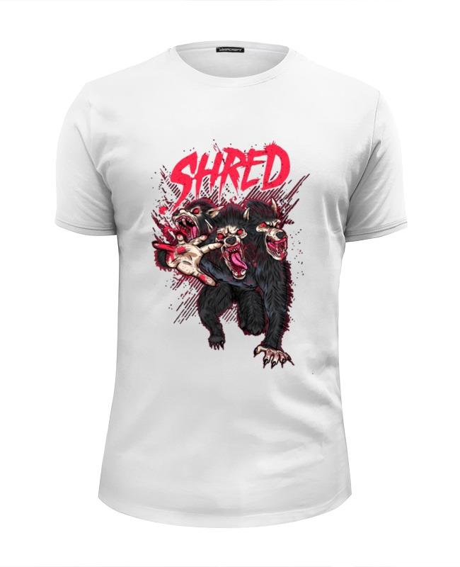 Футболка Wearcraft Premium Slim Fit Printio Shred цена