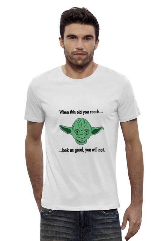 Футболка Wearcraft Premium Slim Fit Printio Магистр йода (звездные войны) футболка wearcraft premium slim fit printio йода звездные войны