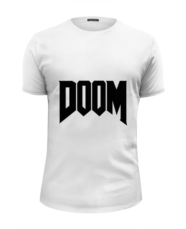 Футболка Wearcraft Premium Slim Fit Printio Дум (doom) все цены