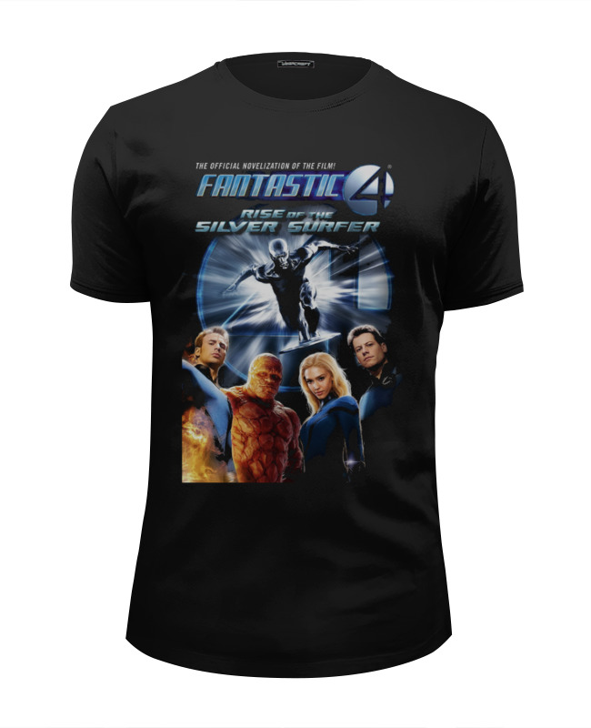 Футболка Wearcraft Premium Slim Fit Printio Fantastic 4 / фантастическая четверка drawing fantastic furries