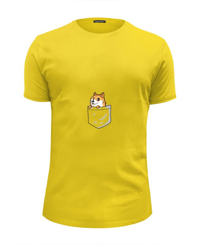 Футболка Wearcraft Premium Slim Fit Printio Little dog футболка wearcraft premium slim fit printio roar dog