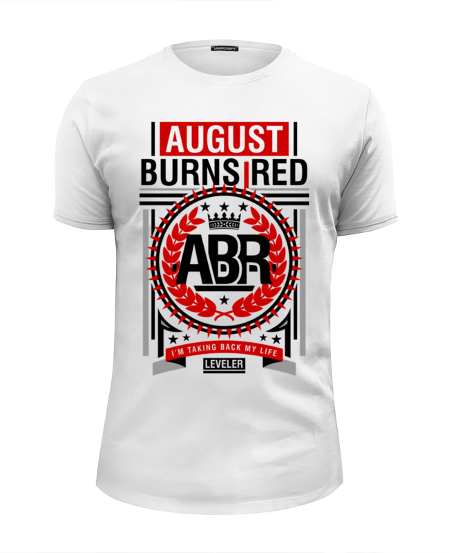 Футболка Wearcraft Premium Slim Fit Printio August burns red august burns red schweinfurt