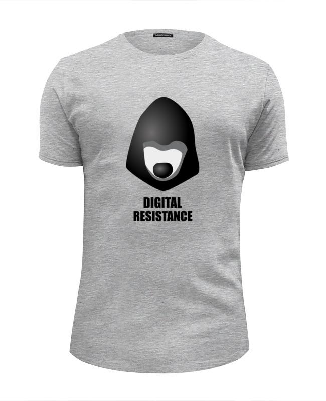 Футболка Wearcraft Premium Slim Fit Printio Digital resistance