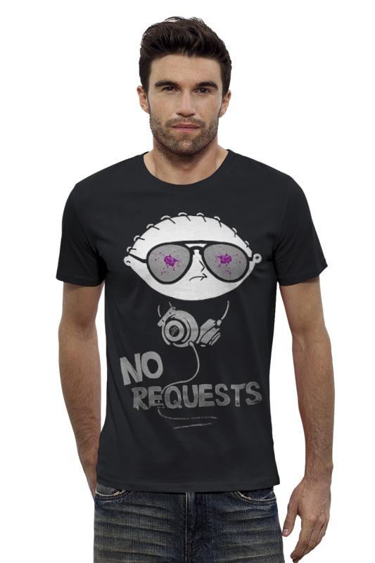 Футболка Wearcraft Premium Slim Fit Printio No requests футболка wearcraft premium slim fit printio нет проблем no prob llama
