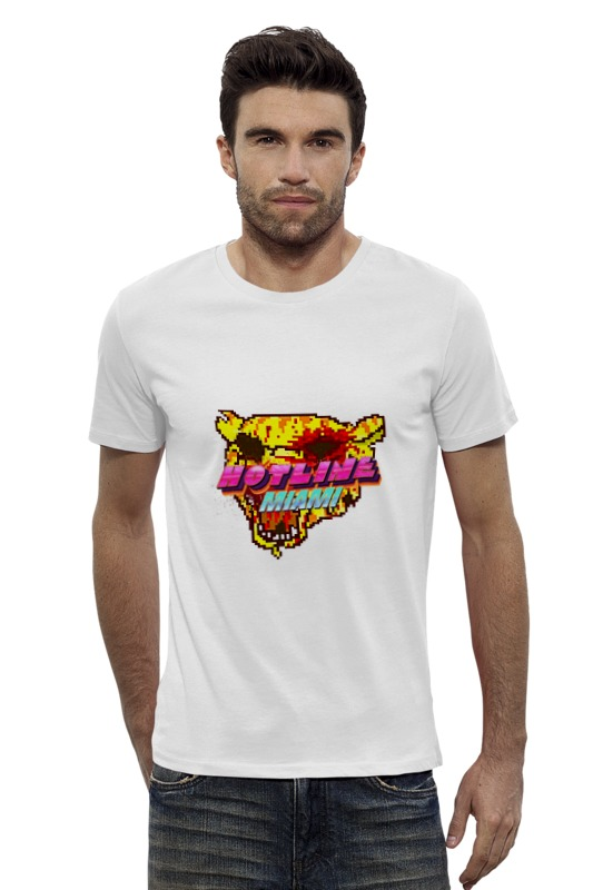 Футболка Wearcraft Premium Slim Fit Printio Hotline miami