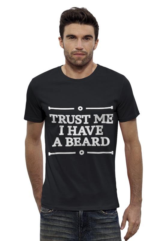 Футболка Wearcraft Premium Slim Fit Printio Trust me футболка wearcraft premium slim fit printio you were made following me