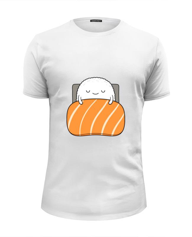 Футболка Wearcraft Premium Slim Fit Printio Суши и роллы футболка wearcraft premium printio палочки для суши
