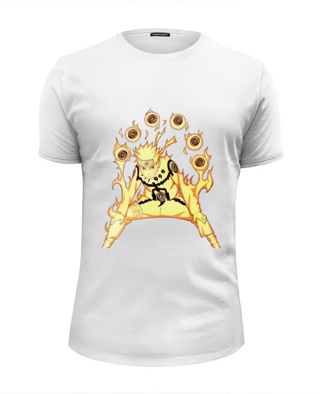 Футболка Wearcraft Premium Slim Fit Printio Наруто футболка wearcraft premium slim fit printio naruto наруто