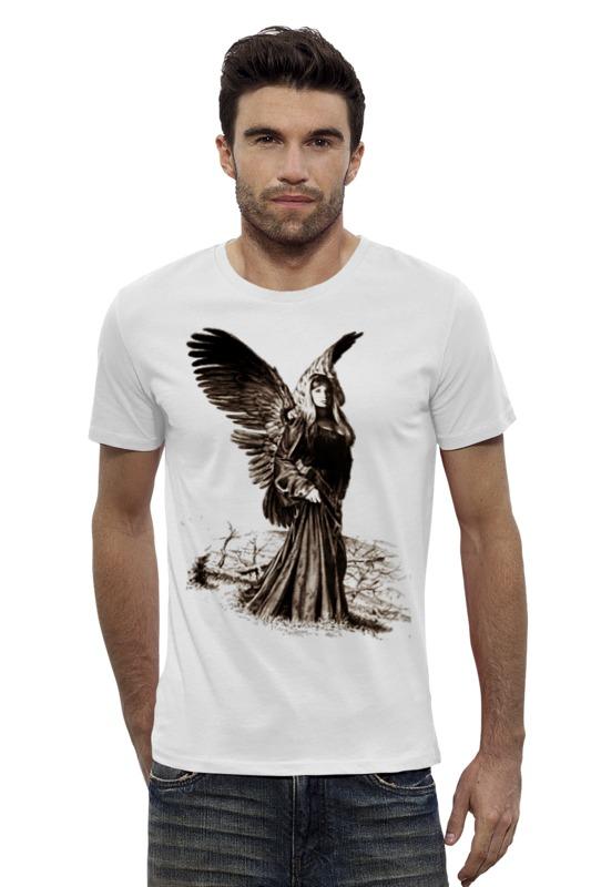 Футболка Wearcraft Premium Slim Fit Printio Прекрасный ангел россия дорожная икона ангел хранитель