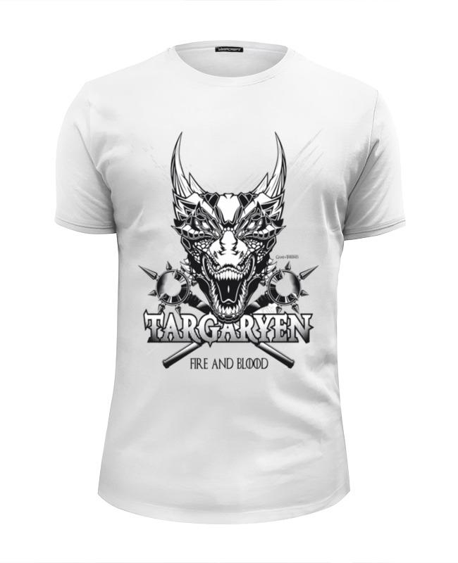 Футболка Wearcraft Premium Slim Fit Printio Дракон таргариенов (игра престолов) футболка wearcraft premium printio китайский дракон