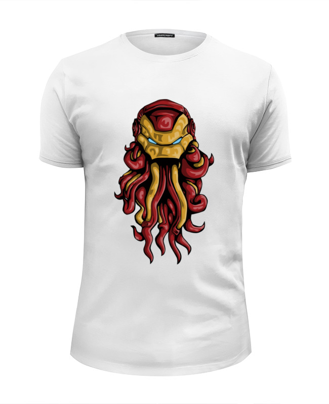 Футболка Wearcraft Premium Slim Fit Printio Ктулху (железный человек) футболка wearcraft premium slim fit printio ктулху