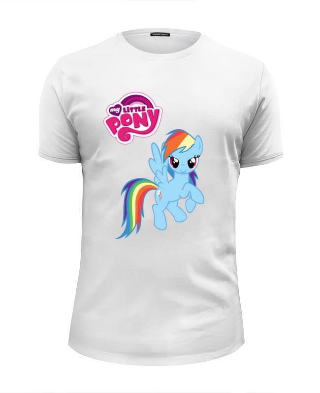 Футболка Wearcraft Premium Slim Fit Printio My little pony girl babar s little girl