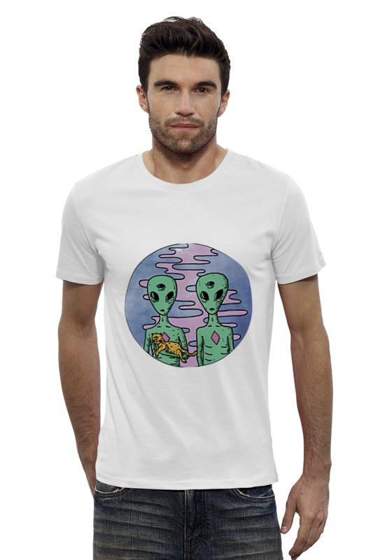 Футболка Wearcraft Premium Slim Fit Printio Инопланетянин футболка wearcraft premium printio кит и планеты