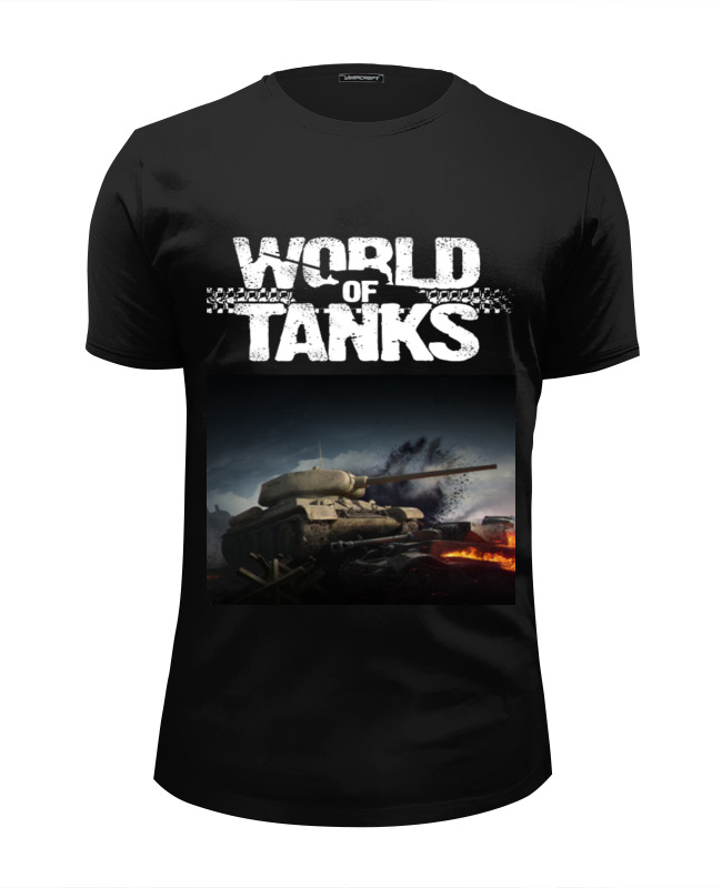 Футболка Wearcraft Premium Slim Fit Printio World of tanks футболка wearcraft premium slim fit printio world of tanks