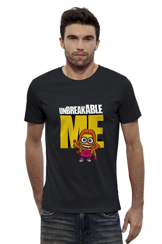 Футболка Wearcraft Premium Slim Fit Printio Unbreakable me (minion) детская футболка классическая унисекс printio unbreakable me minion