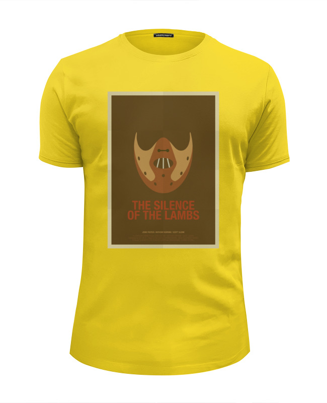 Футболка Wearcraft Premium Slim Fit Printio Silence of the lambs / молчание ягнят футболка in silence феникс черный xl