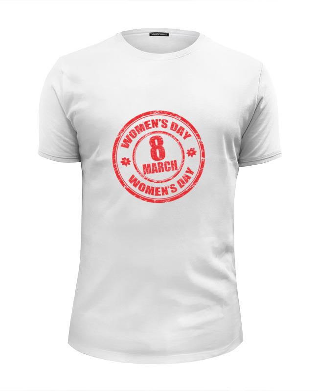 Футболка Wearcraft Premium Slim Fit Printio 8 марта футболка wearcraft premium printio 8 марта