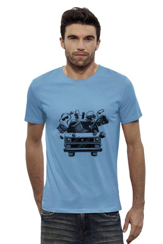 Футболка Wearcraft Premium Slim Fit Printio Машина футболка wearcraft premium slim fit printio голубой морской кит кашалот