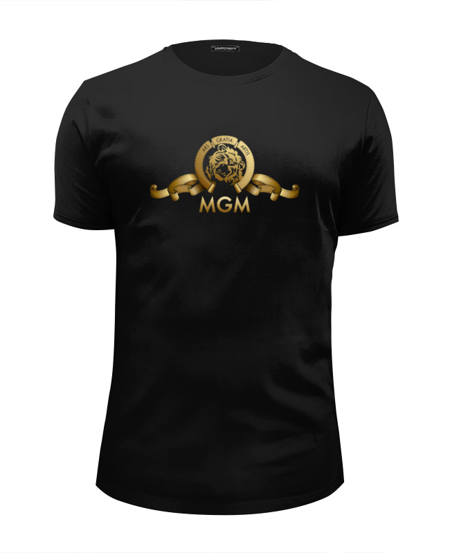 Футболка Wearcraft Premium Slim Fit Printio Metro-goldwyn-mayer / mgm футболка классическая printio metro goldwyn mayer mgm