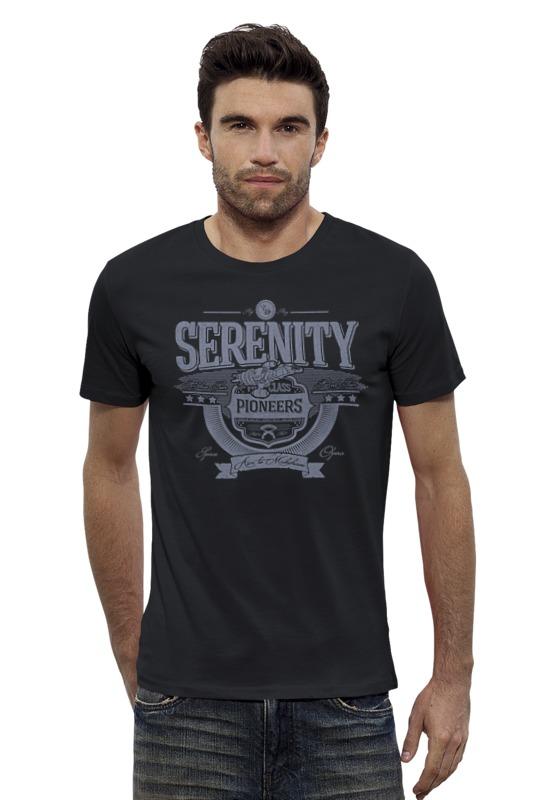 Футболка Wearcraft Premium Slim Fit Printio Серенити футболка wearcraft premium slim fit printio космический кит