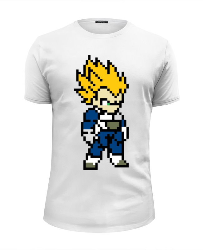 Футболка Wearcraft Premium Slim Fit Printio Super saiyan (dragon ball) japan anime dragonball dragon ball z resurrection f original banpresto chozousyu figure vol 2 super saiyan god ss vegeta
