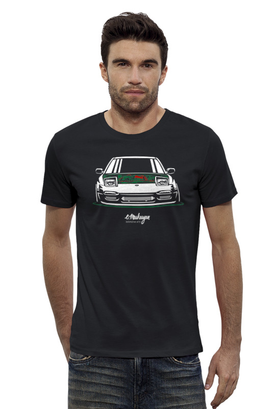 Футболка Wearcraft Premium Slim Fit Printio Nissan 240sx футболка wearcraft premium slim fit printio nissan skyline r34