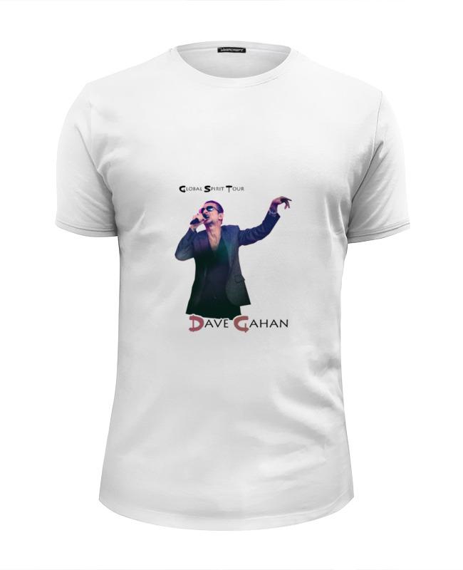 Футболка Wearcraft Premium Slim Fit Printio Depeche mode spirit tour футболка rebel spirit rebel spirit re032emspj40