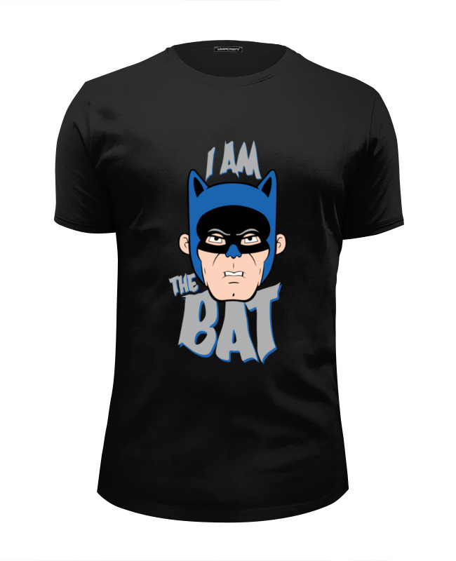 Printio I am the bat футболка wearcraft premium slim fit printio i am your father