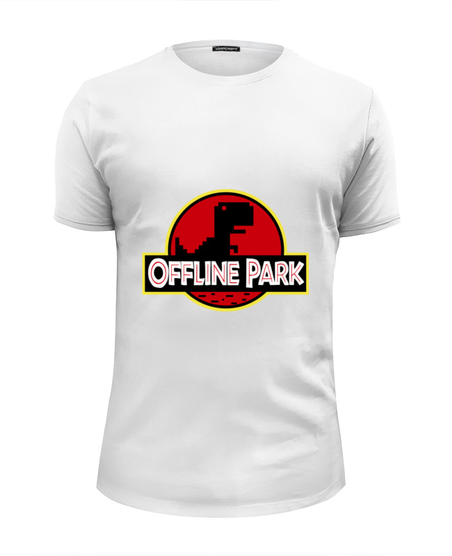 Футболка Wearcraft Premium Slim Fit Printio Динозавры (парк юрского периода) сумка printio динозавры парк юрского периода