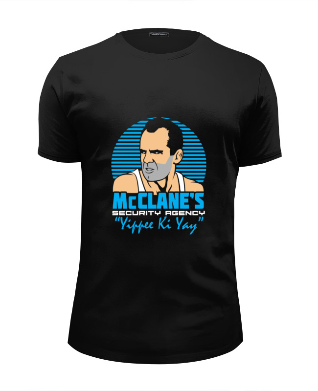 Printio Джон макклейн (крепкий орешек) футболка wearcraft premium slim fit printio крепкий орешек