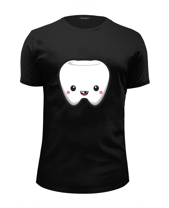 Футболка Wearcraft Premium Slim Fit Printio Tooth / зуб