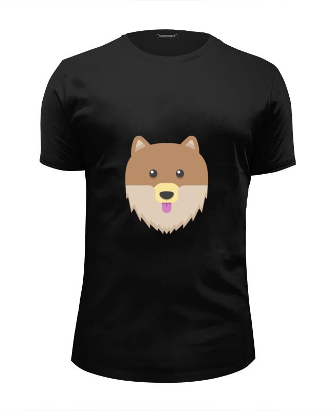 Футболка Wearcraft Premium Slim Fit Printio Собака футболка wearcraft premium slim fit printio совушка