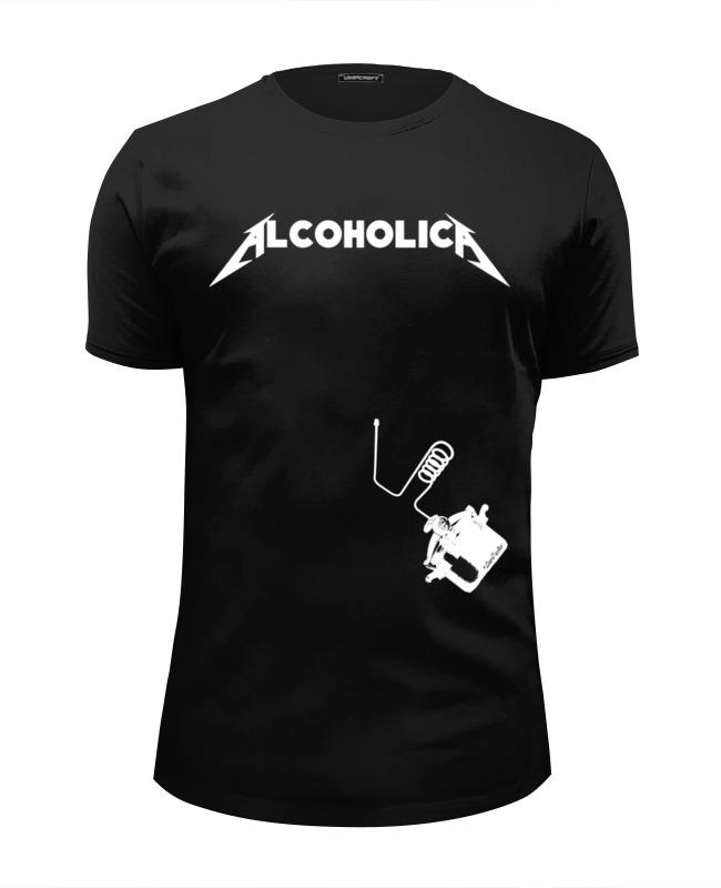 Футболка Wearcraft Premium Slim Fit Printio Alcoholica