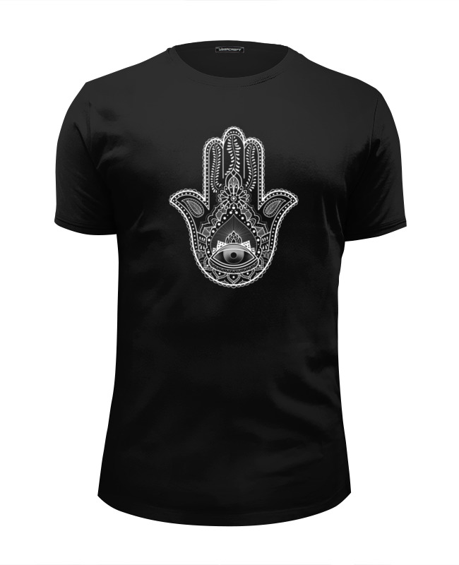 Футболка Wearcraft Premium Slim Fit Printio Hamsa футболка wearcraft premium printio хамса hamsa