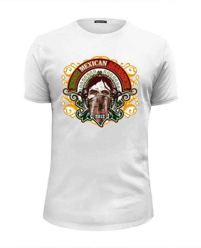 Футболка Wearcraft Premium Slim Fit Printio Irish mexican alliance футболка wearcraft premium slim fit printio london irish