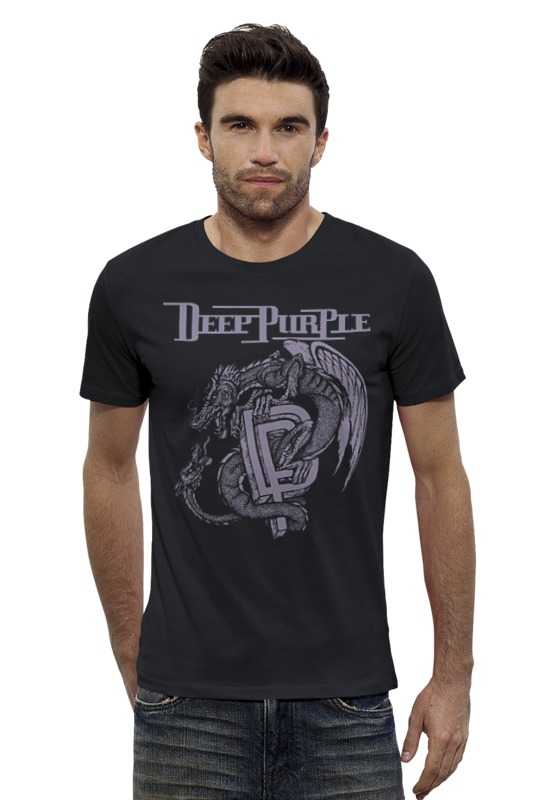 Футболка Wearcraft Premium Slim Fit Printio Deep purple футболка wearcraft premium slim fit printio ussr 1968